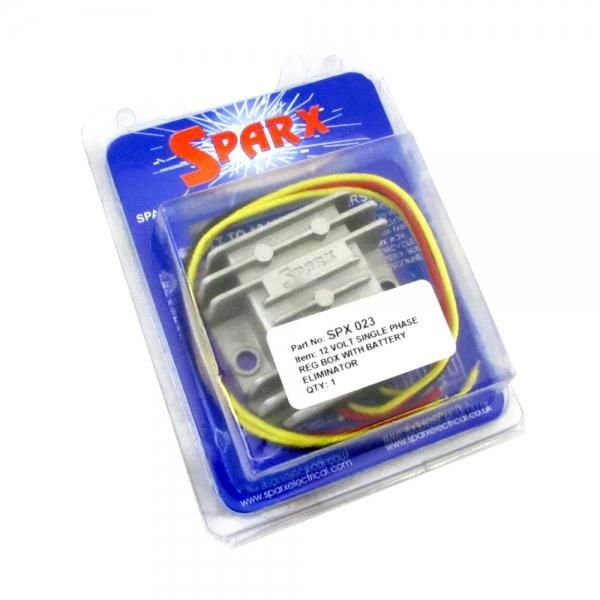 sparx wiring diagram for lights sparx regulator rectifier battery eliminator lowbrowcustoms  rectifier battery eliminator