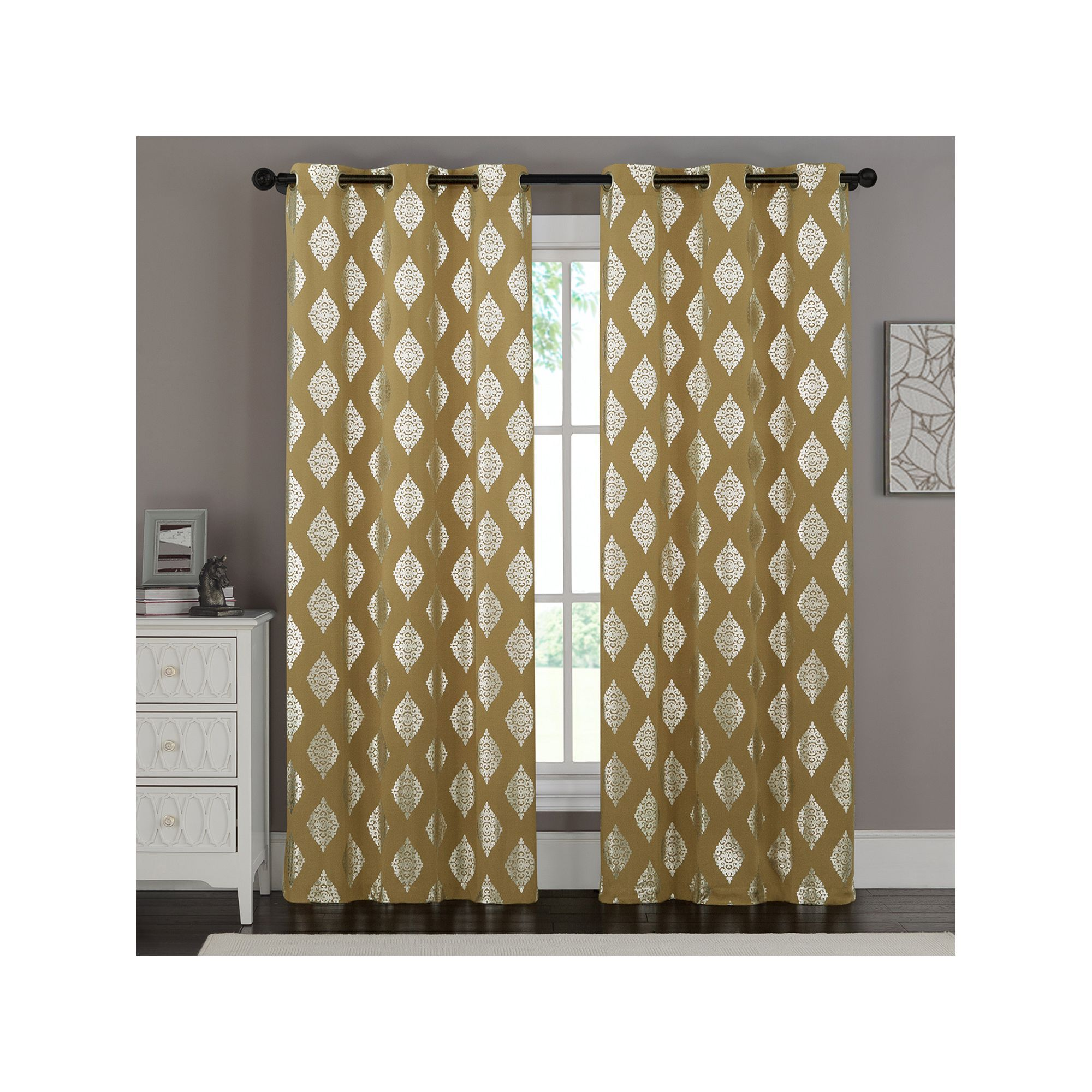 panel rose inspiration residence and curtain gold stripe throughout metallic rugy valuable sheer white your curtains