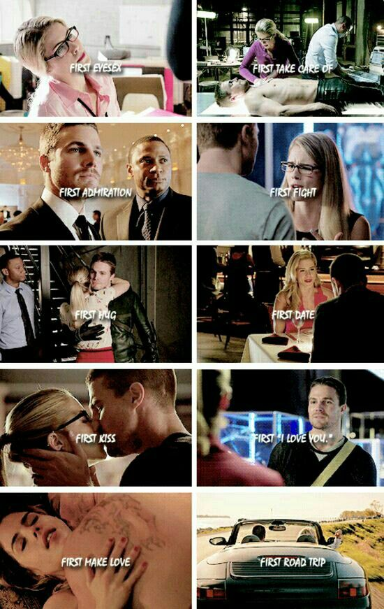 Felicity and Oliver » You're my first and only one » Arrow » Olicity