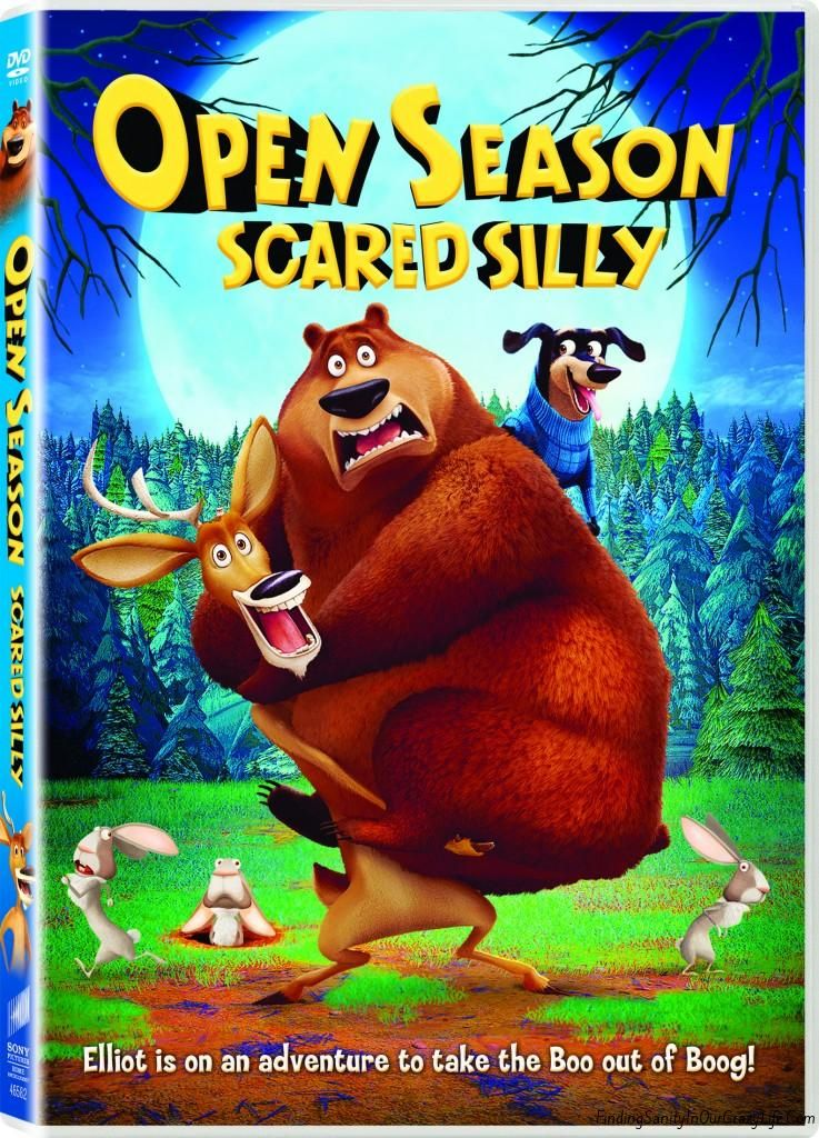 Open season dvd and 25 visa gift card giveaway open