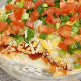 Easy Layered Nacho Dip Recipe | Yummly