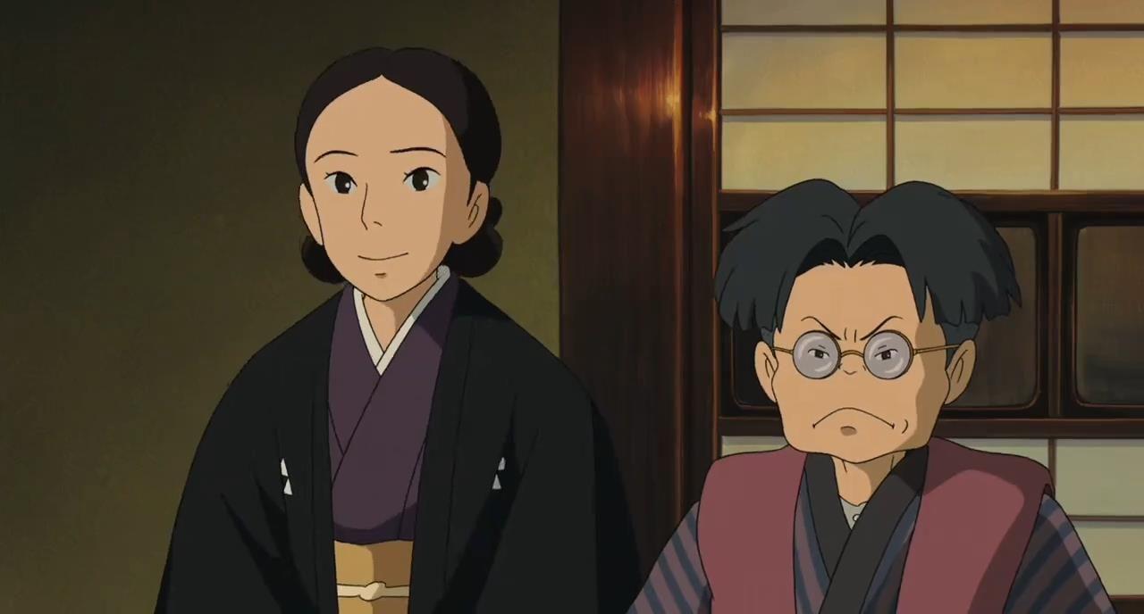 Mr And Mrs Kurokawa The Wind Rises 2013 ジブリ スタジオジブリ 風立ちぬ
