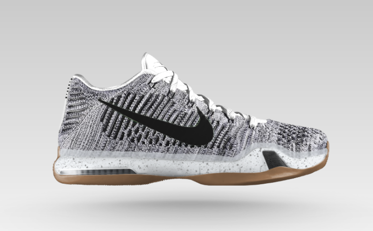 nike kobe 10 elite yellow grey