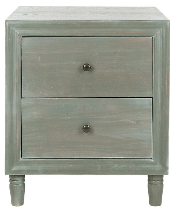 One Kings Lane Easy Updates Kenton Nightstand Distressed Ash