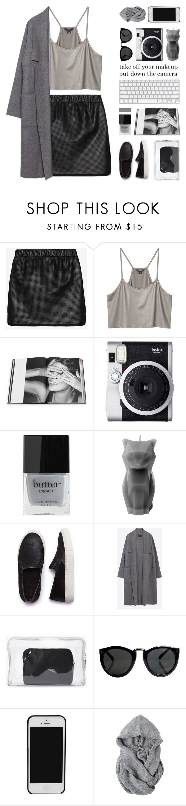 """""""perpetuity"""" by randomn3ss ❤ liked on Polyvore featuring Thakoon Addition, Monki, Rizzoli Publishing, Fuji, Butter London, PyroPet, SELECTED, Zara, 3.1 Phillip Lim and simpleoutfit"""