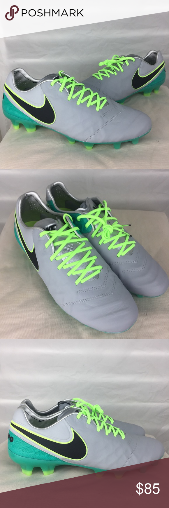 quality design 4c8a4 1468a Nike Tiempo Legend VI Wolf Grey Elite Pack Cleats New ...