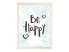 Artprint Be Happy im Format A4 oder A3
