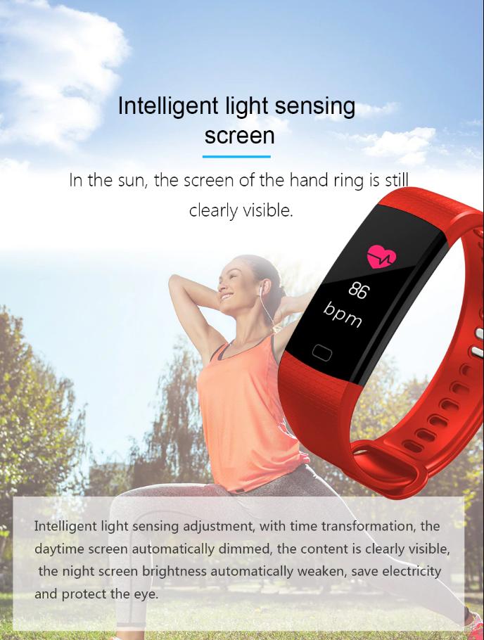 Neuer Sport-Modus, im Sport-Modus, zeichnen Sie Ihre Trainingszeit, Herzfrequenz-Dynamik, sowie die...
