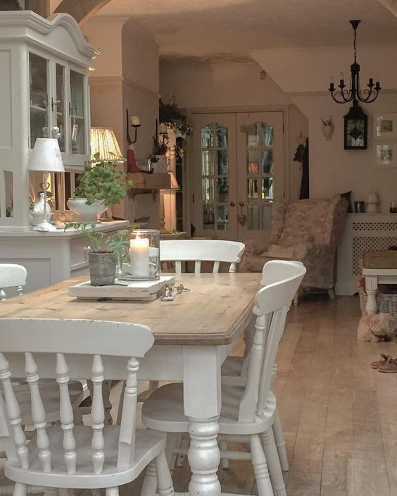 Photo of Shabby Chic Dining Room Ideas (80 Images) – Home Magez – #chic #Dining #Home #Id…
