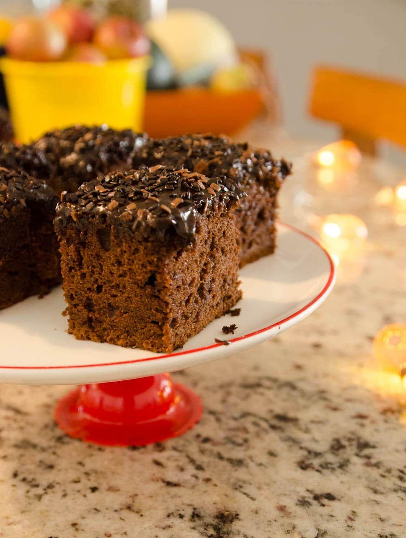 Nega Maluca A Casa Encantada Bolo De Chocolate Com Cobertura
