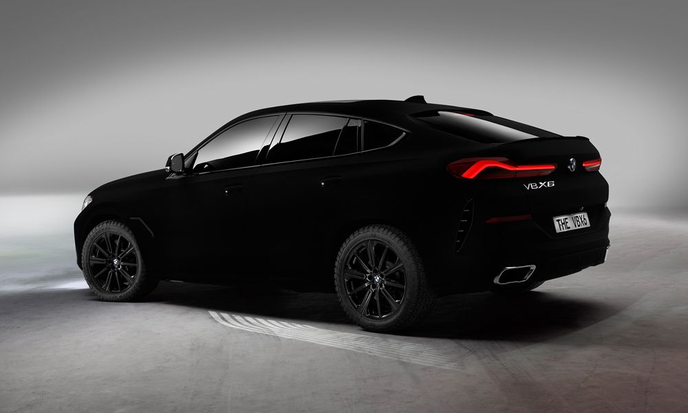 Vantablack Bmw X6 Bmw X6 Bmw Black Black Car