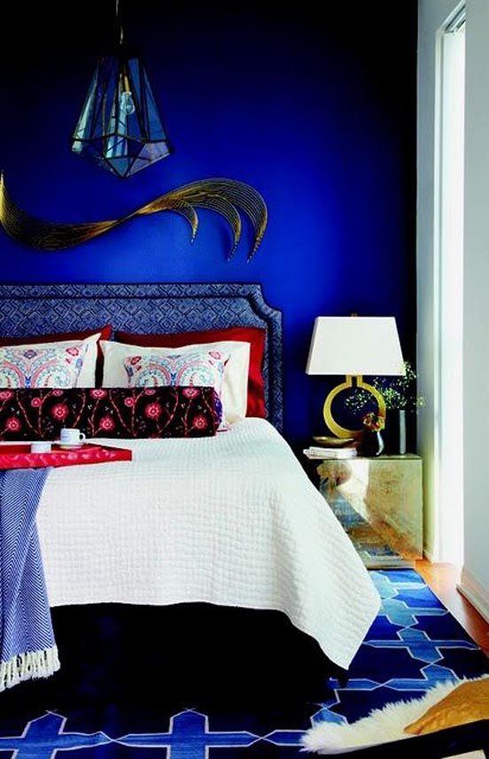 Monday Interior Inspiration Electric Blue Electric Blue