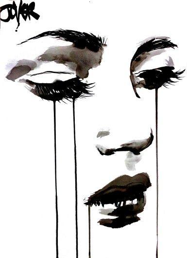 Loui Jover - Untitled Face #5