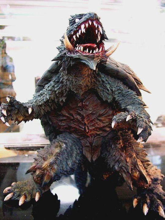 Nightmare Gamera Kaiju Base Godzilla Kaiju And Giant Robots