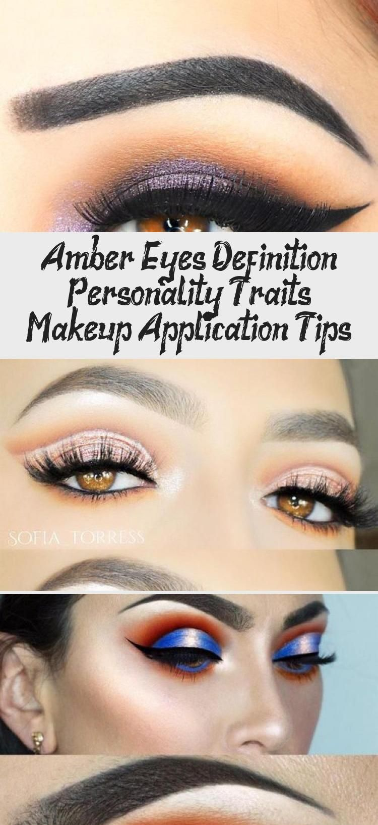 Amber Eyes Definition Personality Traits Makeup Application