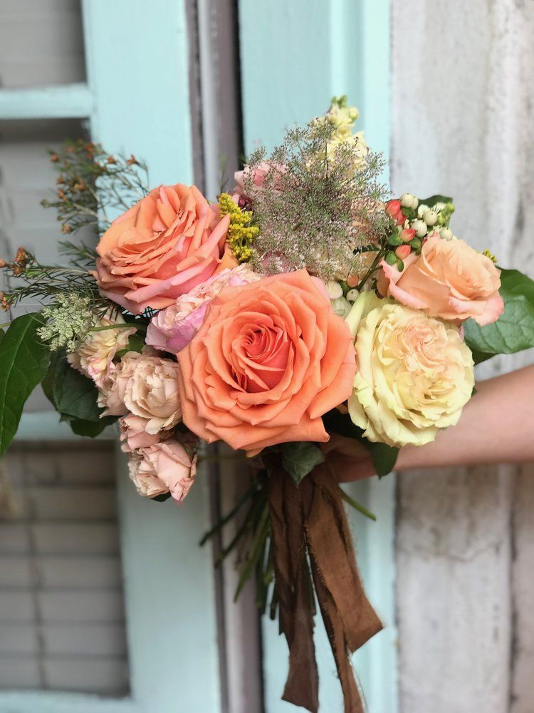 Bright boho wedding bouquet Boho wedding bouquet
