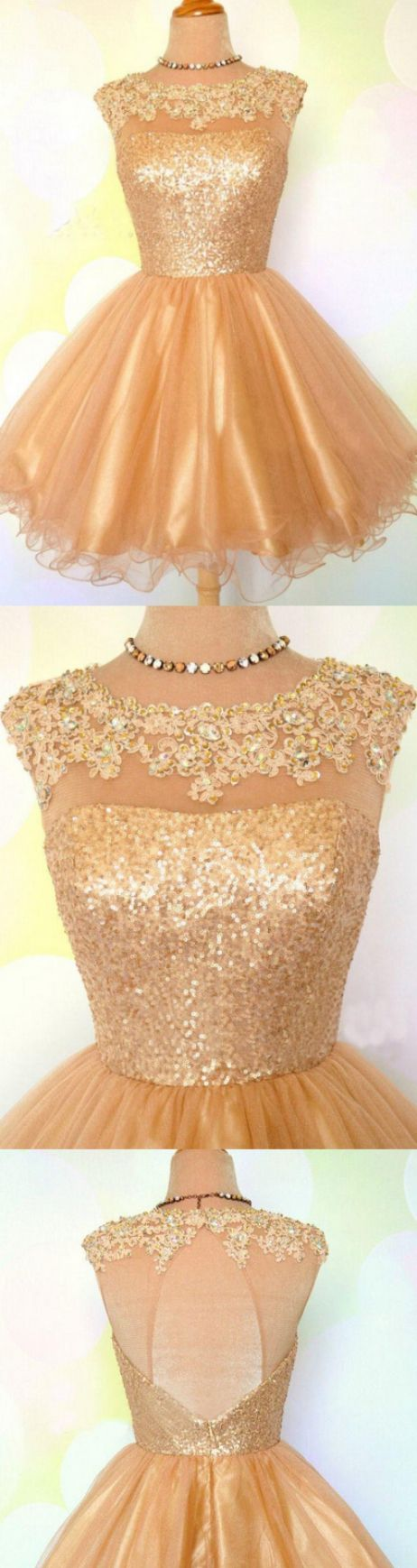Princess homecoming dresses gold homecoming dresses short prom