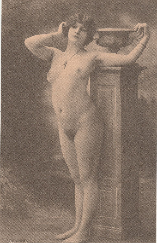 erotic postcard - vintage nude art photos reproduction photography
