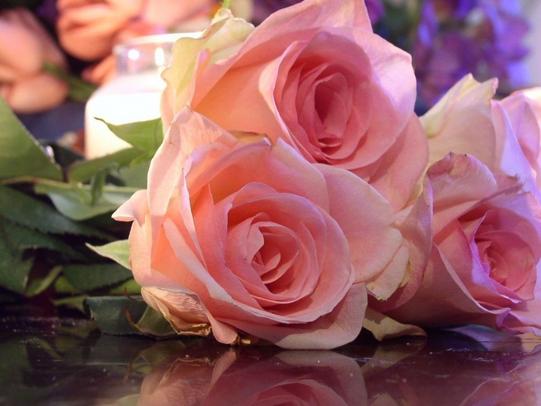 Открытка с днем рождения на английском цветы