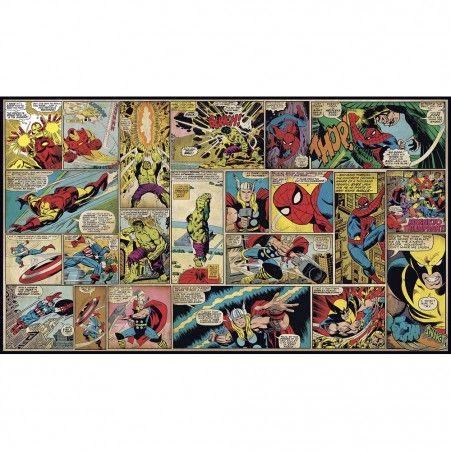 Marvel Classics Comic Panel Xl Wallpaper Mural 10 5 X 6 Roommates Peel And Stick Decor Wandbild Wand Tapeten Wandbilder Wandgemalde Ideen