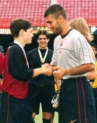 FC Barcelona | Iniesta & Pep Guardiola