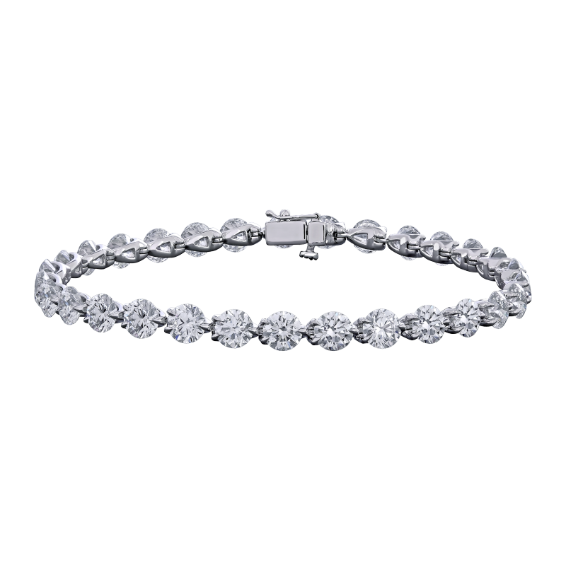 unica tone two collection reverso designer diamond chimento bracelet gold