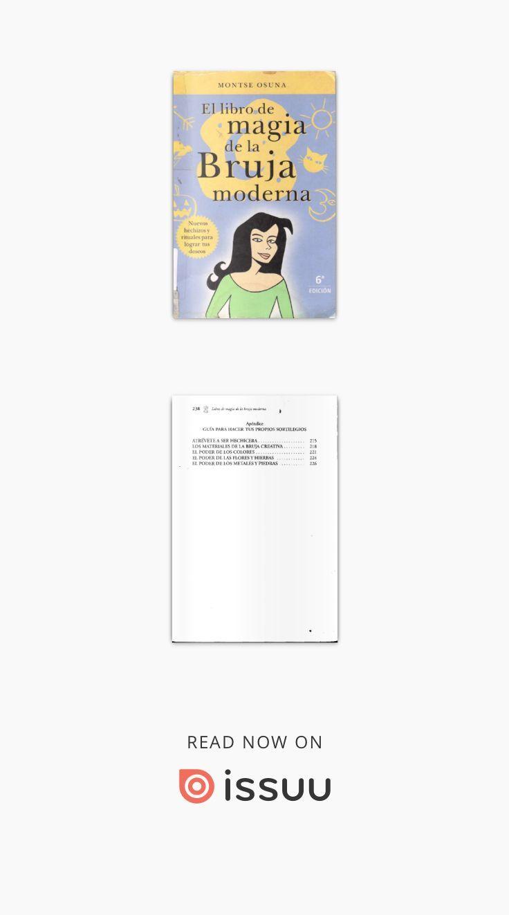 El libro de magia de la Bruja moderna   Pinterest   Bruja moderna ...