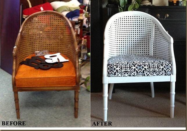 Wicker Chair Before And After Diy Muebles Pinterest