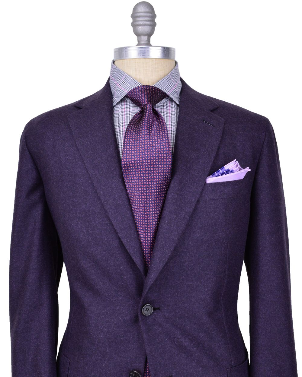 Purple Suit Jacket Mens