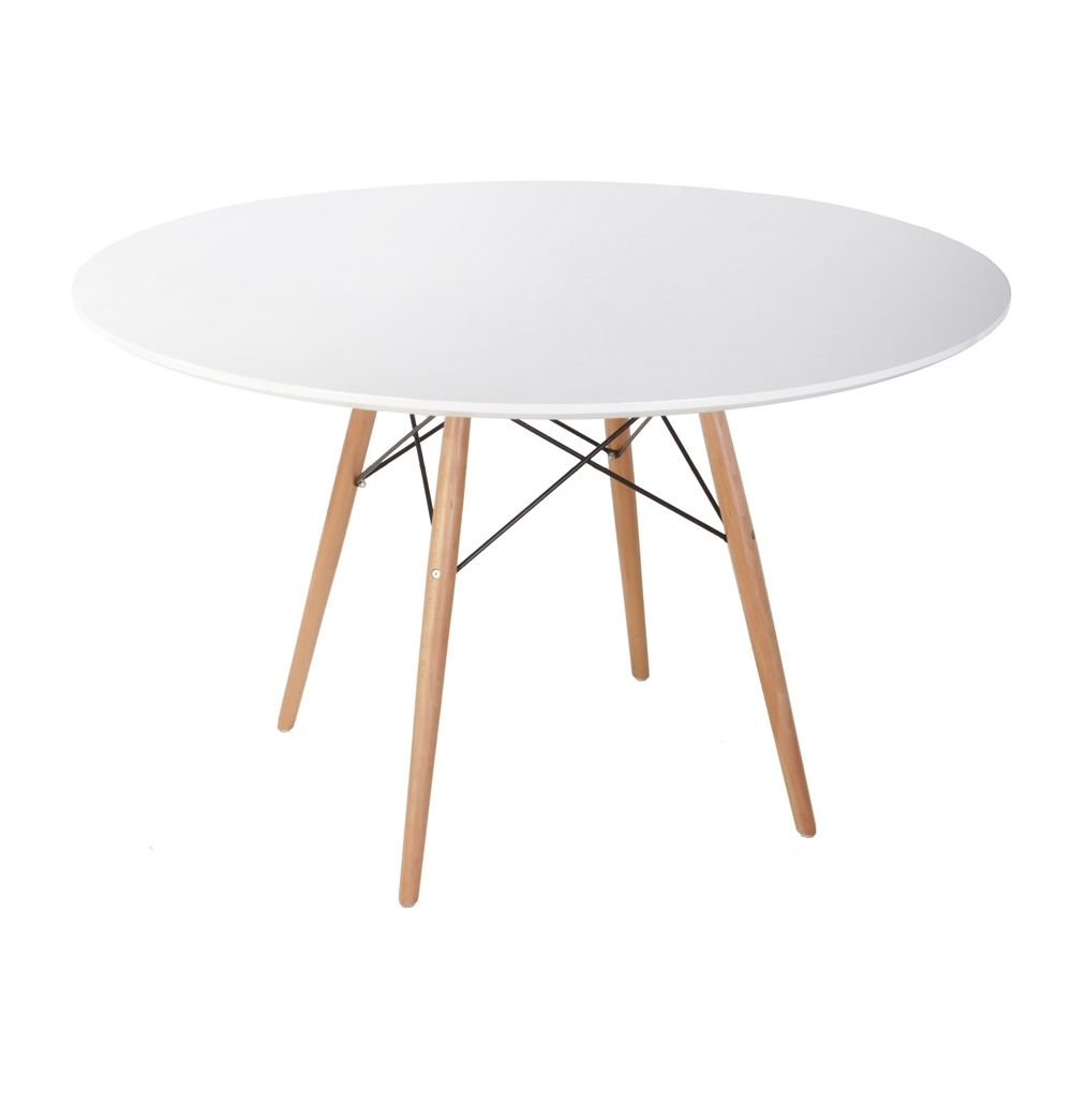 S D Kitchen Or Dining Table Replica Eames Dsw Dining Table Large
