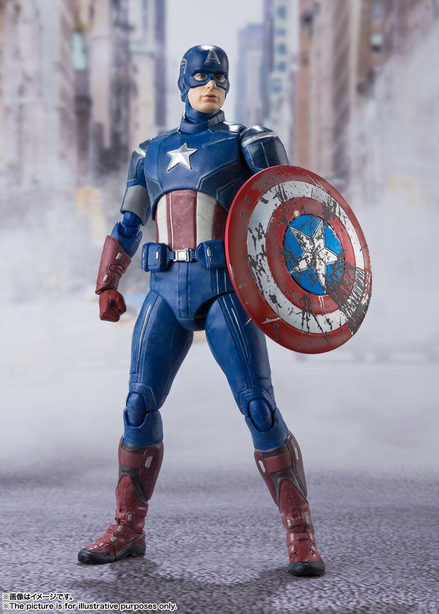 Avengers - Avengers Assemble Edition - Captain America - S.H. Figuart