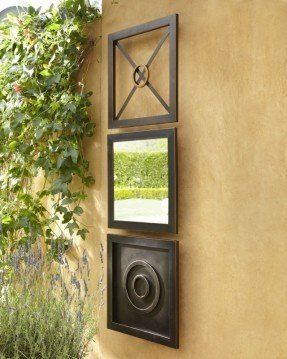 Exterior Wall Plaques Foter outdoor porch area Pinterest
