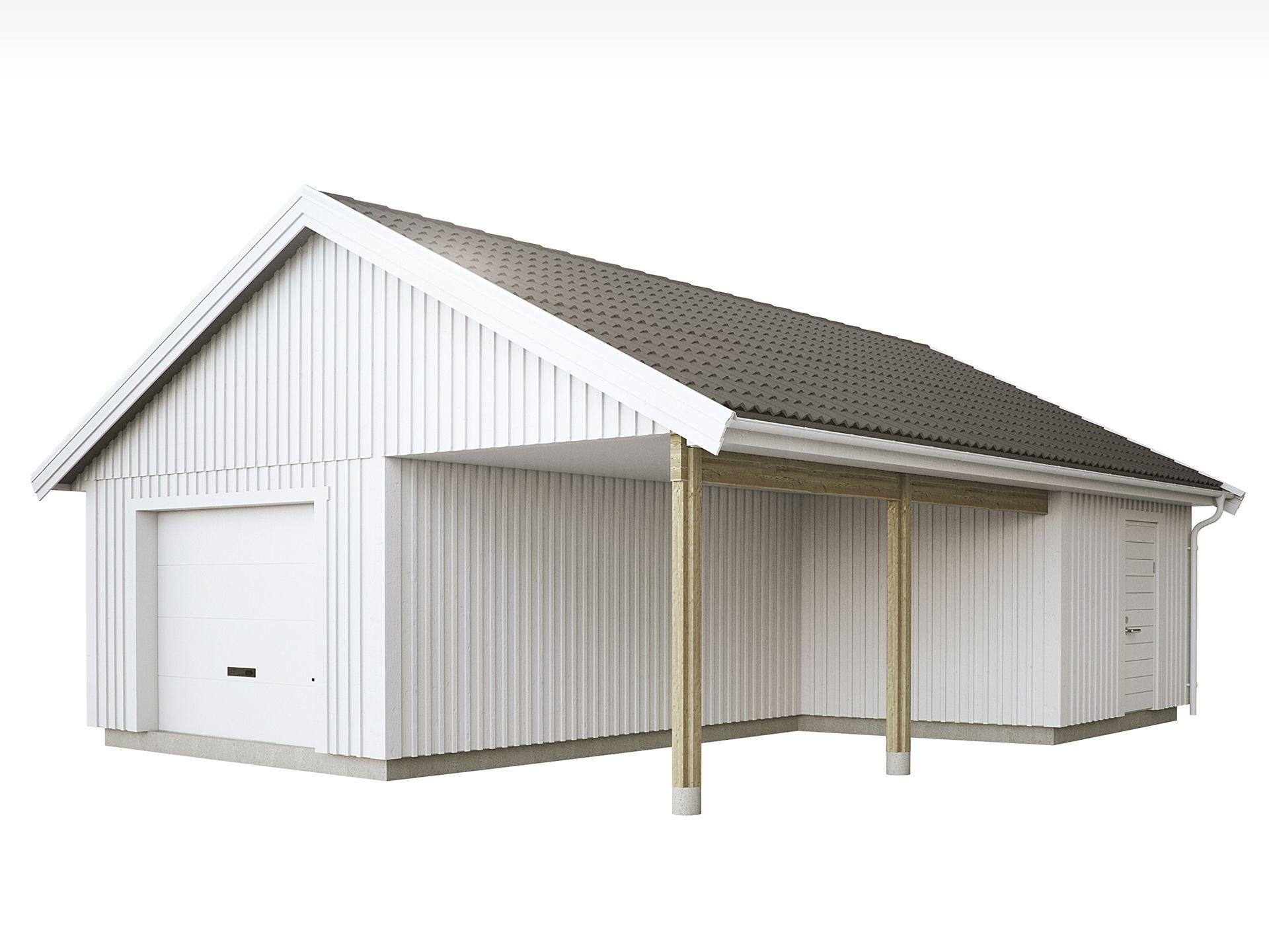 Bildresultat för carport Hus, Garasje