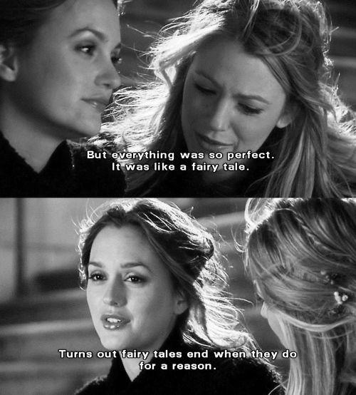fairytales. xoxo gossip girl Gossip girl quotes, Gossip