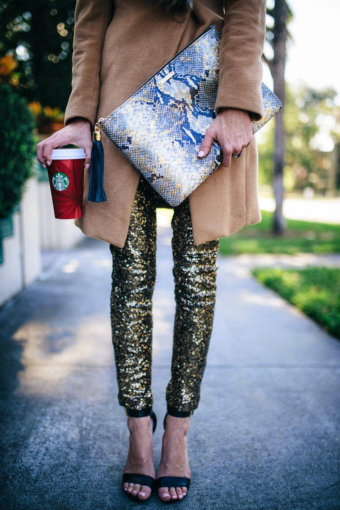 a1cc1e47 11 Ways to Make Sequin Pants Look (Very) Cool   Clothes   Sequin ...