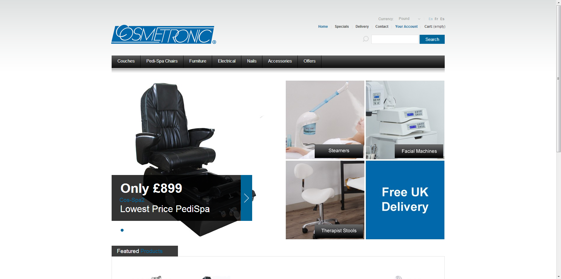 We have just launched a new website offering the best in