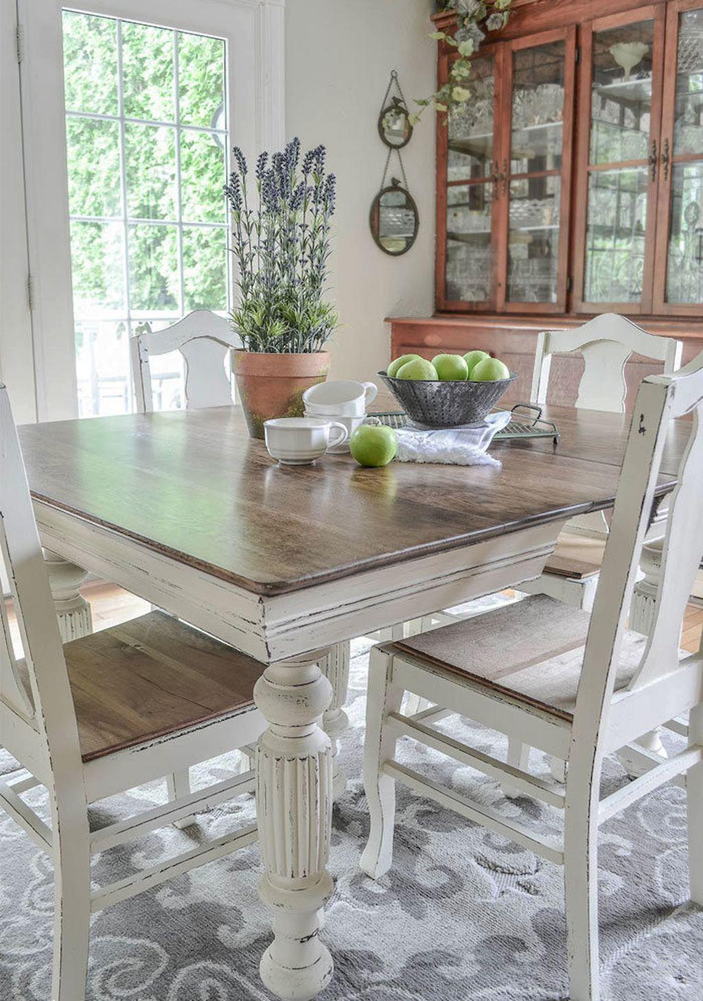 88+ Farmhouse Dining Table Decor Ideas | Pinterest | Gestalten ...