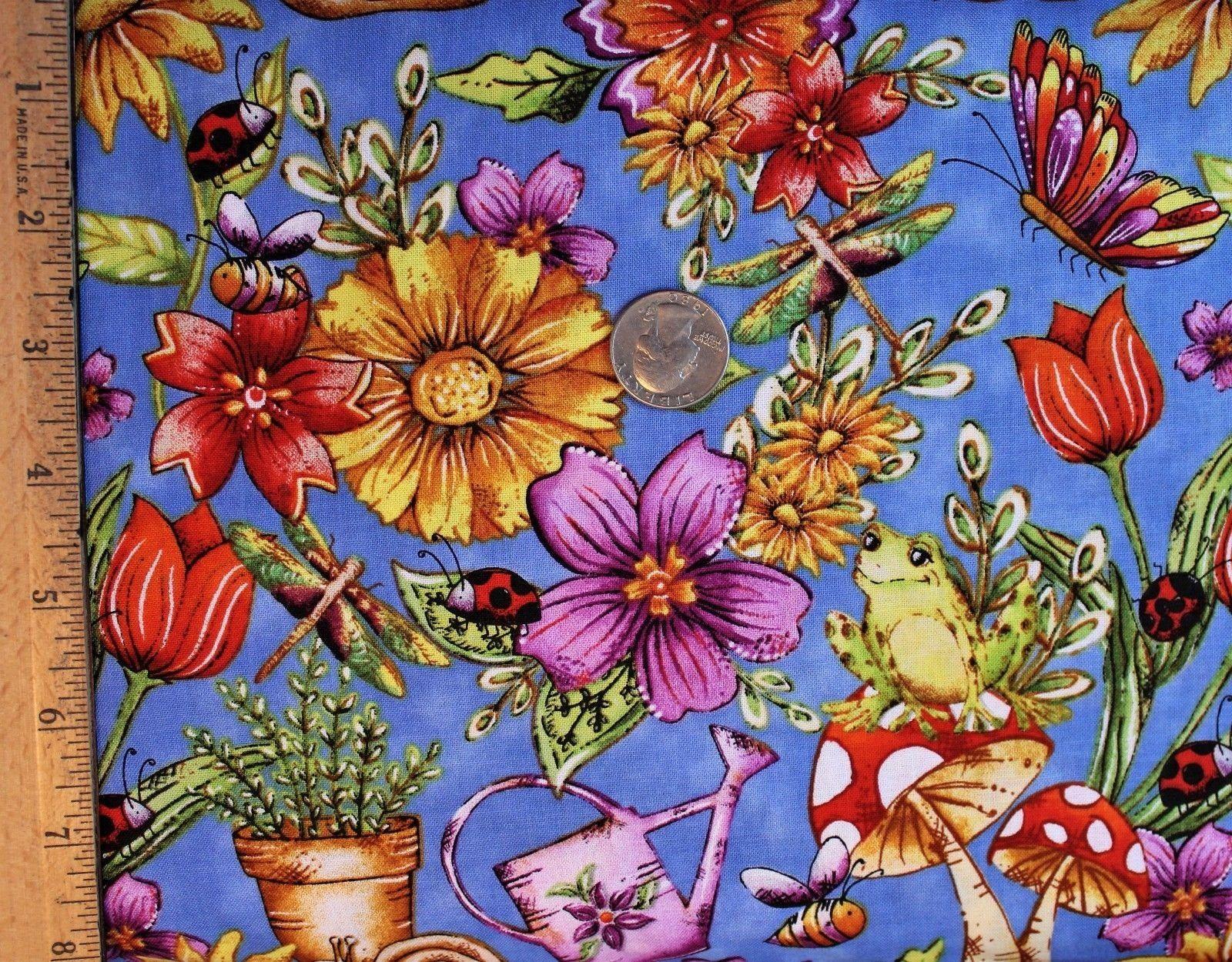 Garden glory by blank fabrics 100 cotton quilting fabric