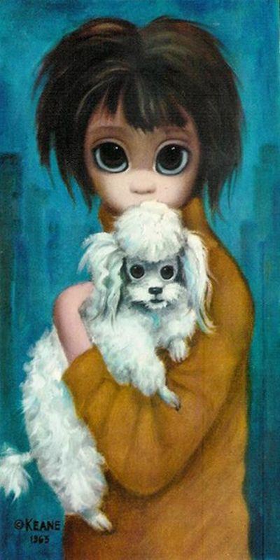 Маргарет Кин (Margaret Keane) - американская художница - Маргарет Кин. Авторская…