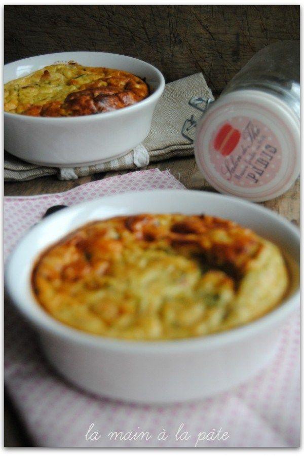 Clafoutis la courgette et au saumon recette recettes thermomix sal es pinterest - Cuisine legere thermomix ...