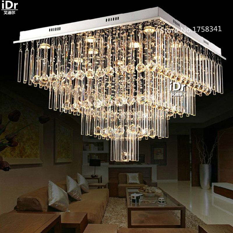 new modern luxury k9 crystal lamp top design led crystal Bedroom ...