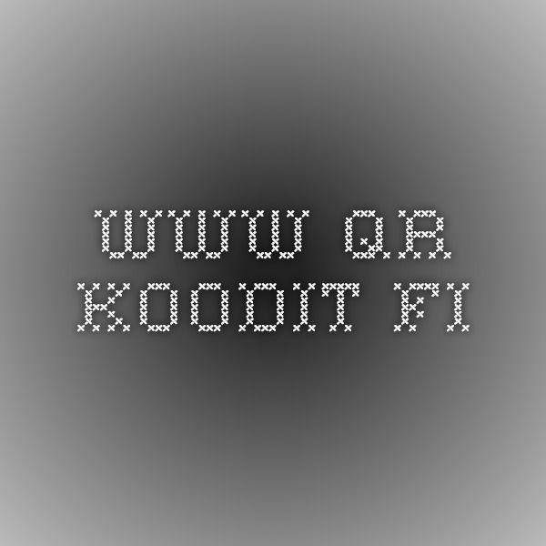 www.qr-koodit.fi
