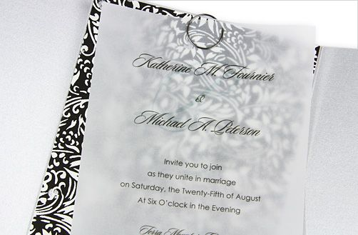 5 Vellum Wedding Invitation Ideas You Can Craft Ideas Wedding