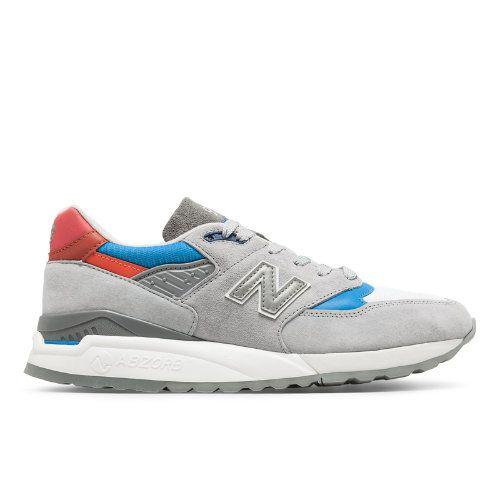 best cheap de589 2c18d 998 Baseball Men s Made in USA Shoes - Grey Blue (M998CNG)