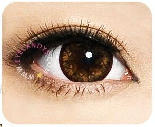 Geo Cafe Mimi Latte Brown Circle Lenses Colored Eye Contacts Colored Contacts