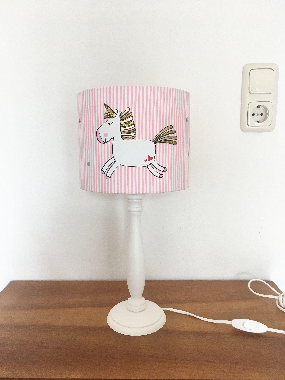 Tischlampe Kinderzimmer Einhorn, Geburtstagsgeschenke für