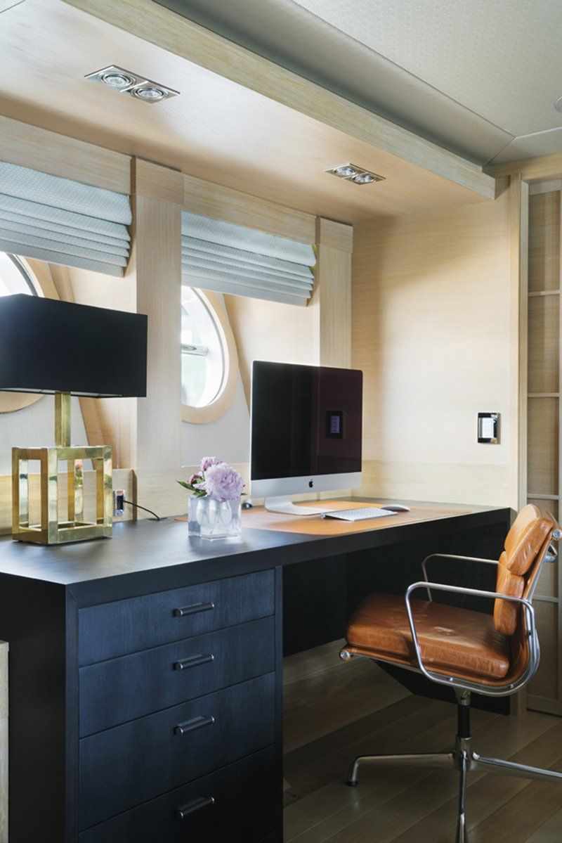 Luxury Yacht Decorated By Interior Designer Peter