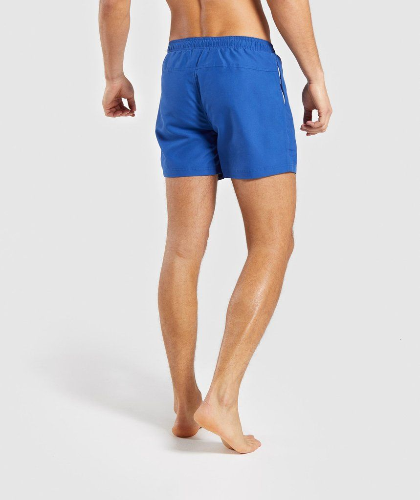 65c6633561 Gymshark Atlantic Swim Shorts - Blue in 2019 | sampling | Swim ...