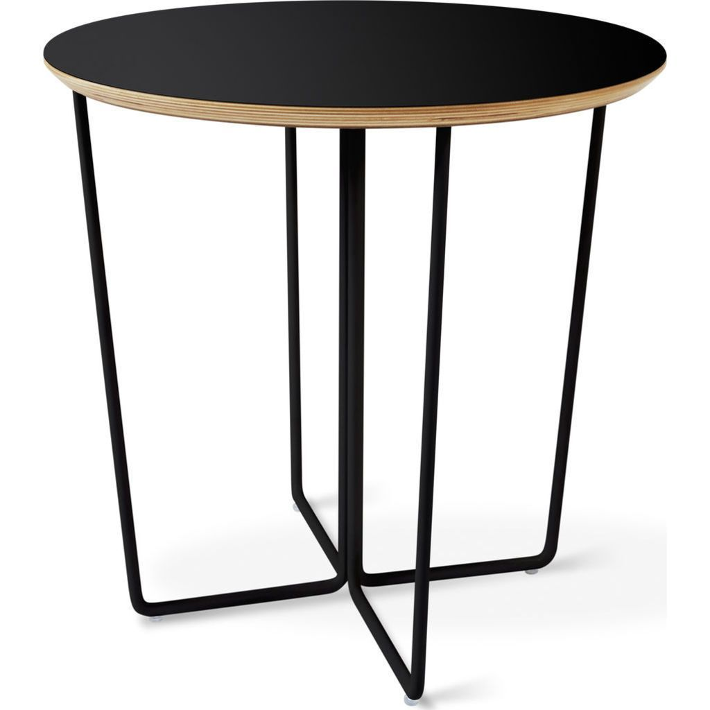 Gus modern array round end table black products