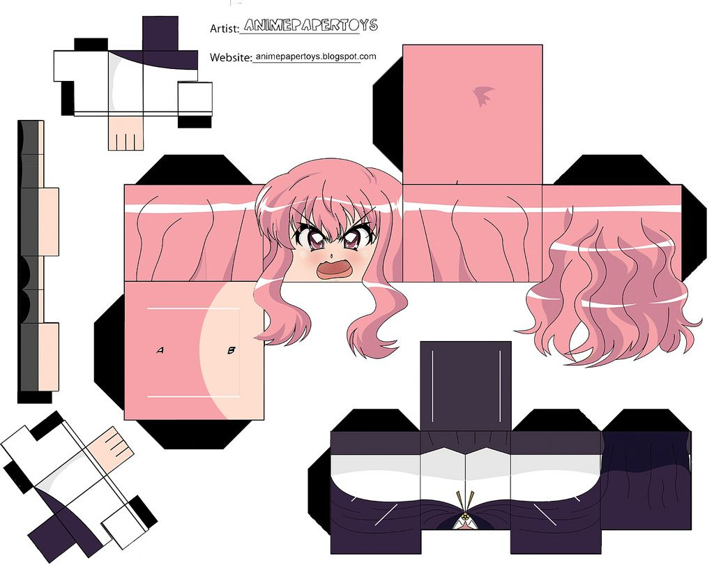 LOUISE (ZERO NO TSUKAIMA) | Armables :) ♥ :3 | Anime ... - photo#35